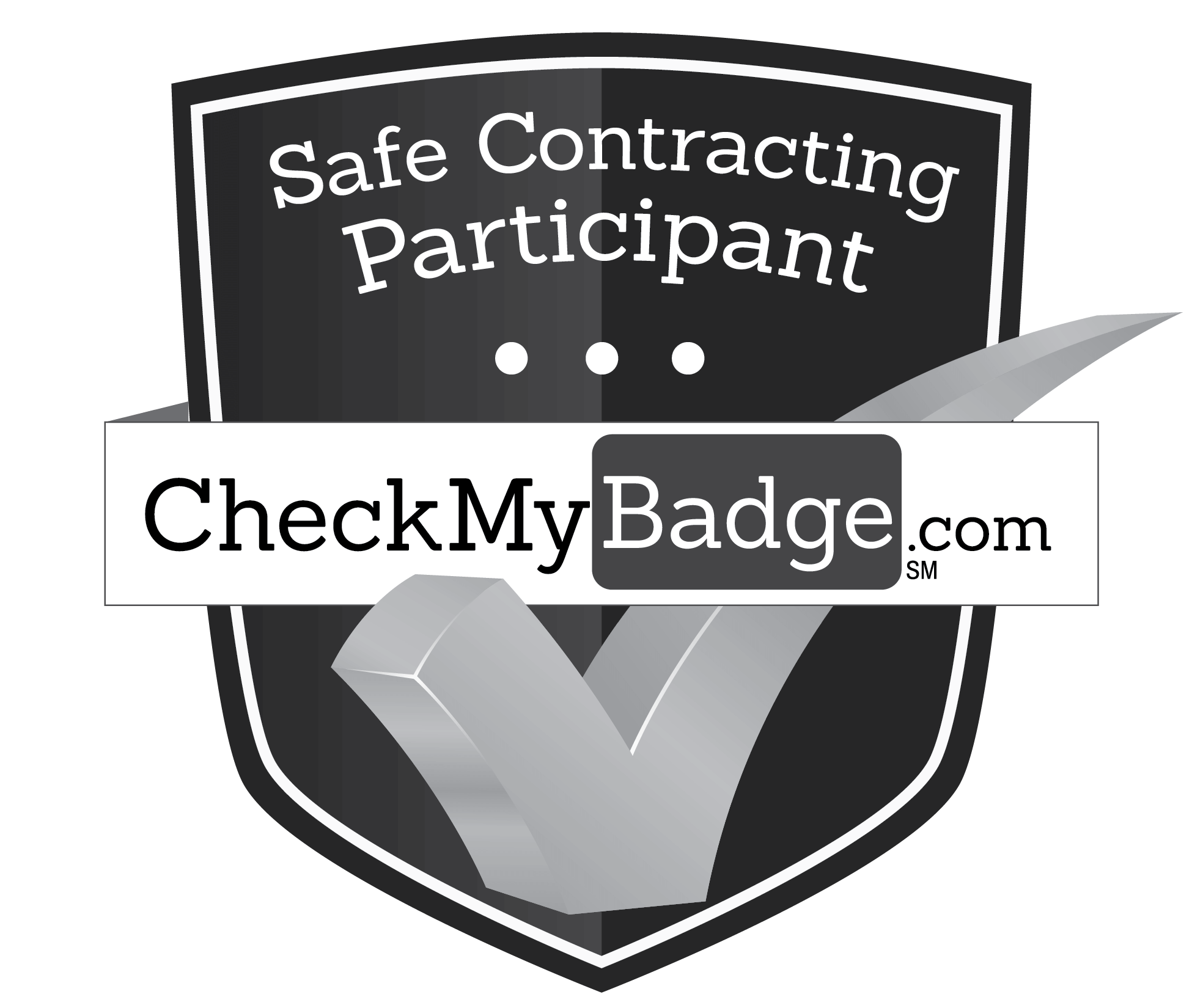 Safe Contracting Participant CheckMyBadge.com